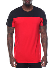 Basic Essentials - Color Block S/S Tee