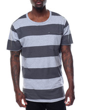 Basic Essentials - Washed Rugby - Stripe Pocket S/S Tee-2085943