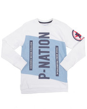 Sweatshirts & Sweaters - P-NATION CREWNECK SWEATSHIRT (8-20)
