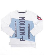 Sweatshirts & Sweaters - P-NATION CREWNECK SWEATSHIRT (4-7)