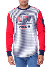 Men - L/S Striped T-Shirt