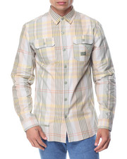 Men - L/S Plaid Button-Down
