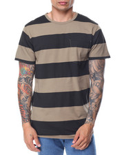 Basic Essentials - Washed Rugby - Stripe Pocket S/S Tee-2086494