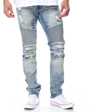 Jeans & Pants - CAUSEWAY DISTRESSED MOTO JEANS