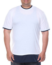Basic Essentials - Round - Bottom Contrast - Layer S/S Tee (B&T)-2086539