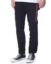 Men - Zipper Patch Denim Jean