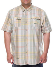 Shirts - S/S Plaid Button-Down (B&T)