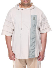 Men - S/S Hoodie T-Shirt (B&T)