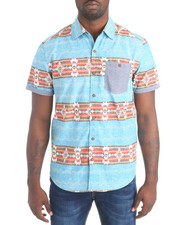 Button-downs - S/S Navajo Button-down Shirt