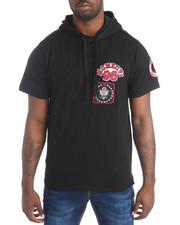Shirts - Logo Patch S/S Hoodie