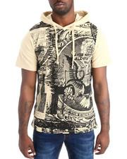 Shirts - Money Print S/S Hoodie