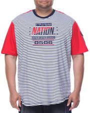 Men - S/S Striped T-Shirt (B&T)