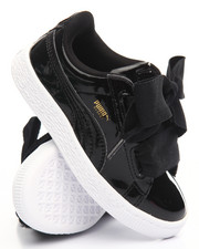 Sneakers - BASKET PATENT HEART SNEAKERS (11-3)
