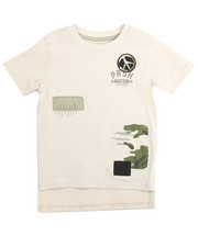 T-Shirts - PEACE OUT PATCH TEE (2T-4T)