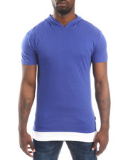 Shirts - Layered - Accent Hooded S/S Tee