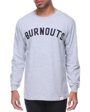 Men - Burnout L/S Tee