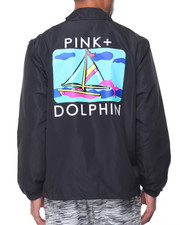 Pink Dolphin - PORTRAIT ONE COACHES JACKET