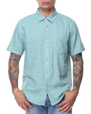 HUF - Course S/S Chambray Button-down