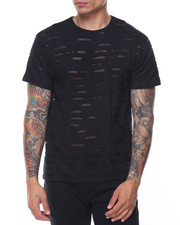 Men - S/S Slashed Scallop Tee