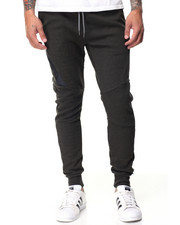 Basic Essentials - Side - Zip Tech Fleece Joggers-2089229