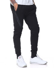 Basic Essentials - Side - Zip Tech Fleece Joggers-2089204