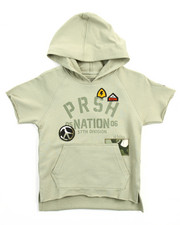 Hoodies - S/S PEACE OUT PULLOVER HOODY (4-7)