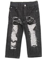 Jeans - RIP & REPAIR JEANS (2T-4T)