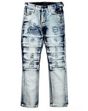 Jeans - DISTRESSED JEANS W/ SLICED KNEES (8-20)