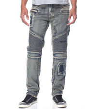 Well Established - Slim Moto - Style Denim Jeans