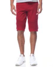 Basic Essentials - Moto Bull Denim Shorts