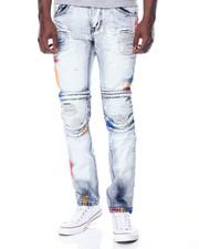 Jeans - Confetti Moto Denim Jeans