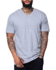 Basic Essentials - Cotton V - Neck S/S Tee (B&T)-2081786