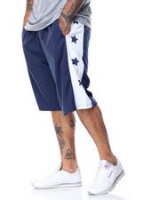 Basic Essentials - Star Basektball Mesh Shorts