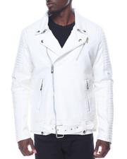 Buyers Picks - Vegan Leather Moto Jacket-2091428