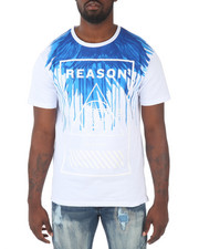Reason - FEATHER FADE LOGO TEE