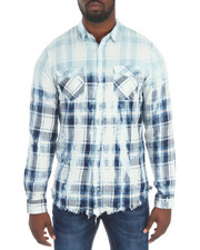 Reason - WASHER PLAID BUTTON DOWN