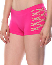 Sets - Cut Out Sides/ Animal/Stripe Seamless 3Pk Shorts