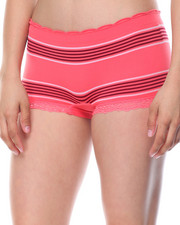 Sets - Stripe/Side Cut Outs/ Space Dye Seamless 3Pk Shorts