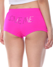 Sets - Love Me Sequin Trim Seamless 3Pk Shorts