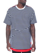 Reason - JAGGED EDGE STRIPE TEE