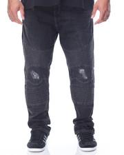 Jeans & Pants - Rip & Repairs Moto Jean (B&T)