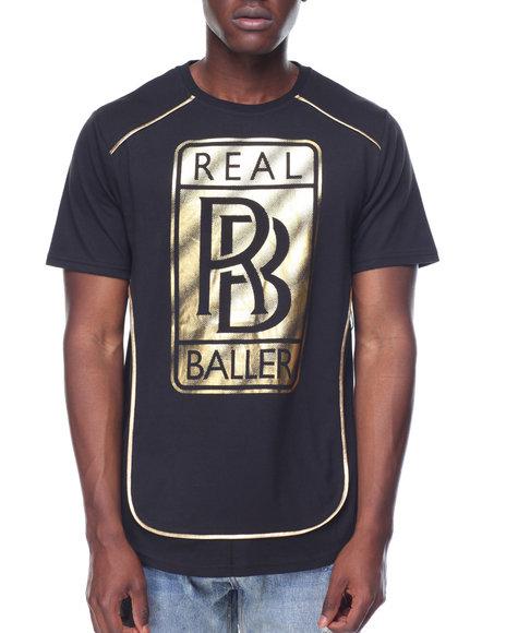Buyers Picks - Real Baller Foil Tee