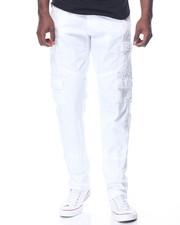 Men - Belted Cargo Slim Fit Pants