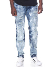 Jeans & Pants - SWILL DISTRESSED PAINT SPLATTER JEANS