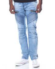 Straight - Biker Denim Jean