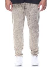 Jeans & Pants - Marble Wash Twill Pants (B&T)