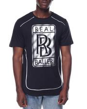 Men - Real Baller Foil Tee