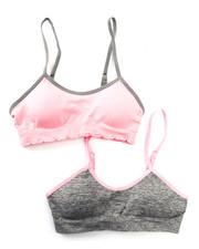 Underwear & Sleepwear - Teen 2Pk Padded Seamless Bra