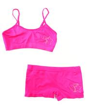 Underwear & Sleepwear - Teen Rhinestone/Star Seamless Bra Short/Set
