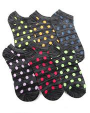 Women - Bright Neon Space Dye 6Pk Low Cut Socks